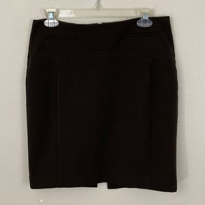 Express Dark Chocolate Pencil Skirt